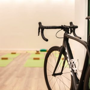 Yoga y bici